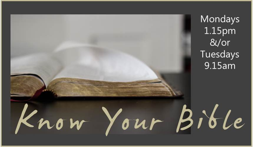 Know your Bible Ad